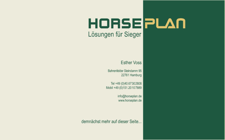 Horseplan - Esther Voss Hamburg